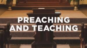 Teaching and preaching versus seeking prophecies and miracles