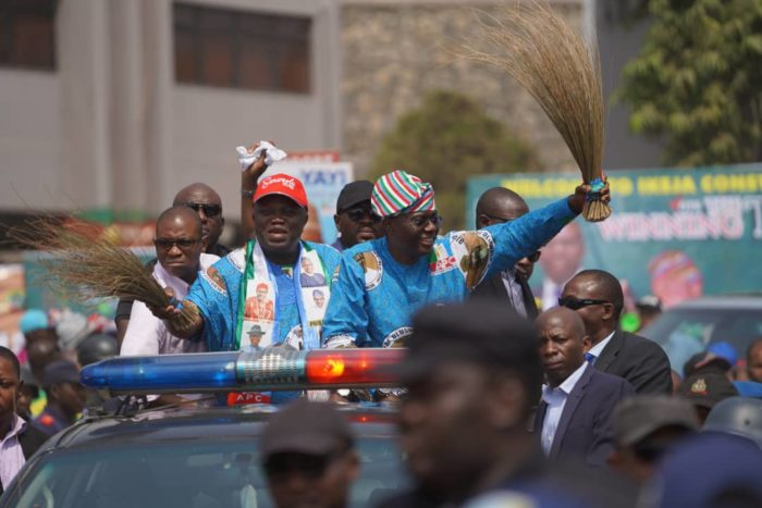 (Video) Lagos APC Rally: Party regrets fracas as Police declare Mustapha Seigo wanted, arrests 2