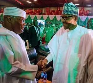 Buhari, Atiku 71 others sign peace pact for election