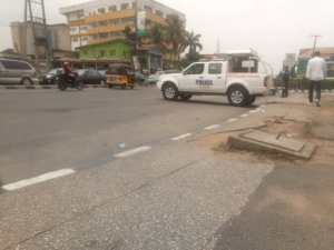 Police stop protesters against Tinubu's 'fifth term'