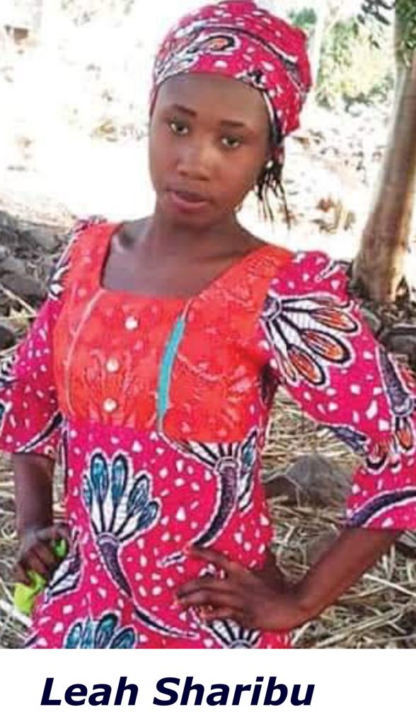 [Leah Sharibu]: We celebrate them, and desecrate Him