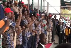 May Day: C/River workers protest as Gov. Ayade pays May salary…Akeredolu promises new minimum wage