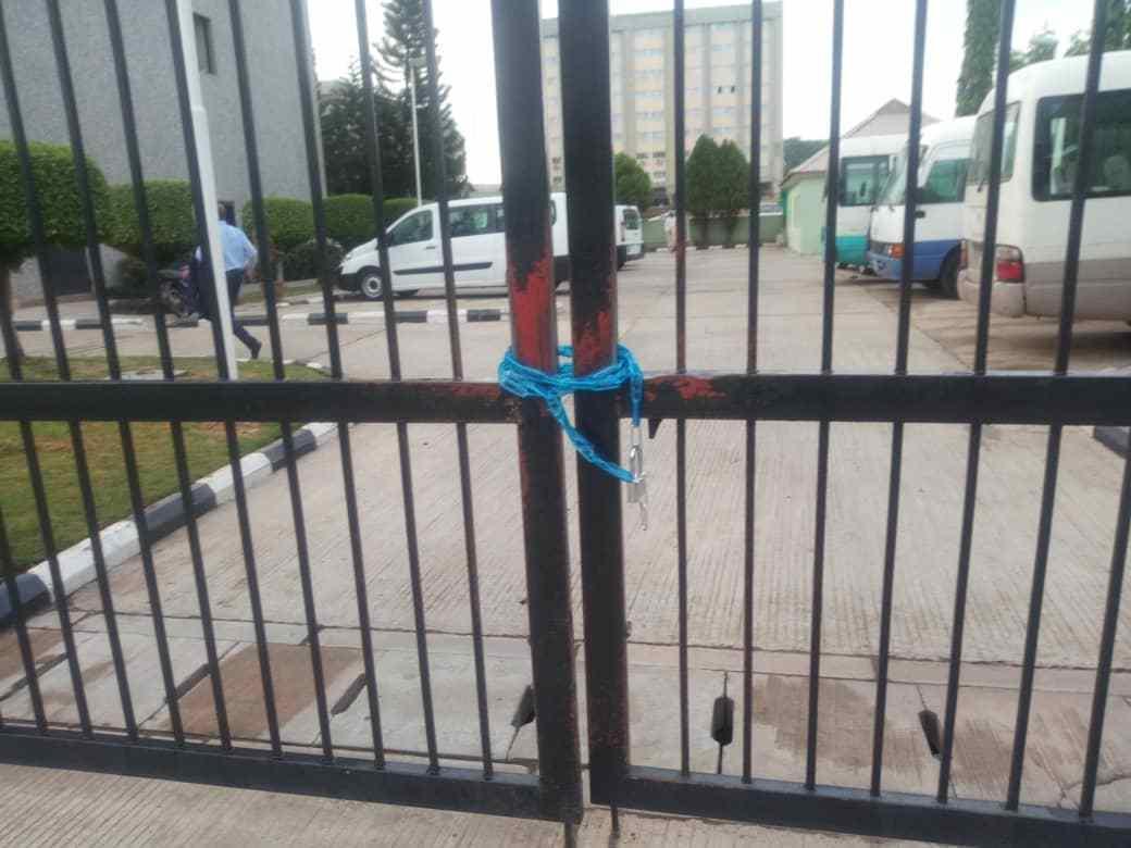 Munir Gwarzo: SEC Headquarters Shutdown By Protesting Workers' Union