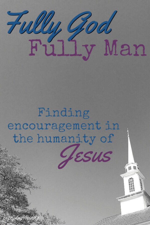 Fully-God, Fully Man: Finding Encouragement in the Humanity of Jesus