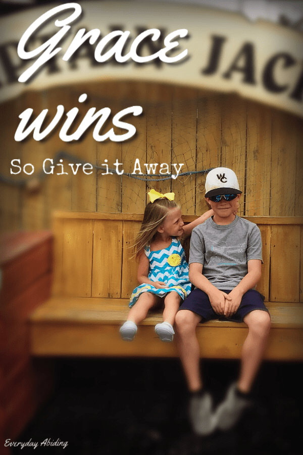 Grace Wins: So Give It Away