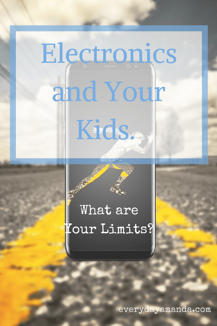 Electronics and Your Kids. What are Your Limits?