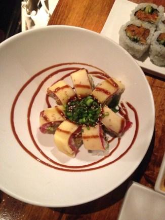 for really amazing sushi... go to elephant sushi...