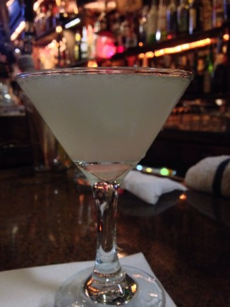 finding new favorite bars and drinks... introducing my vodka gimlet at vesuvios...