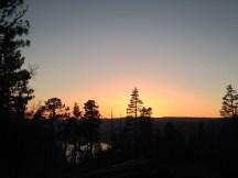 sunset over eleanor