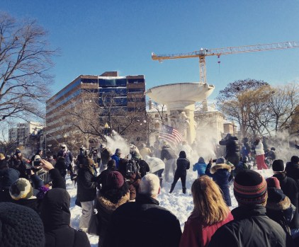 dc snowball fight