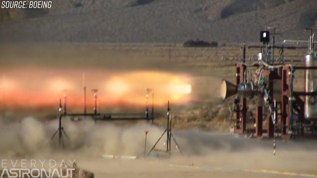 Boeing launch abort motors RS-88 bantam motors escape rockets thrusters