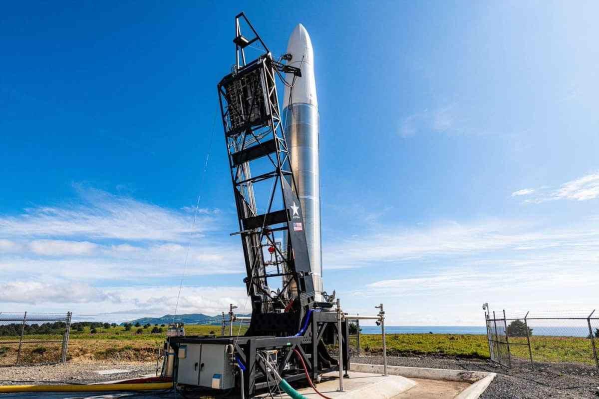 Rocket 3.1 at launch pad 3B. (Credit: John Kraus)