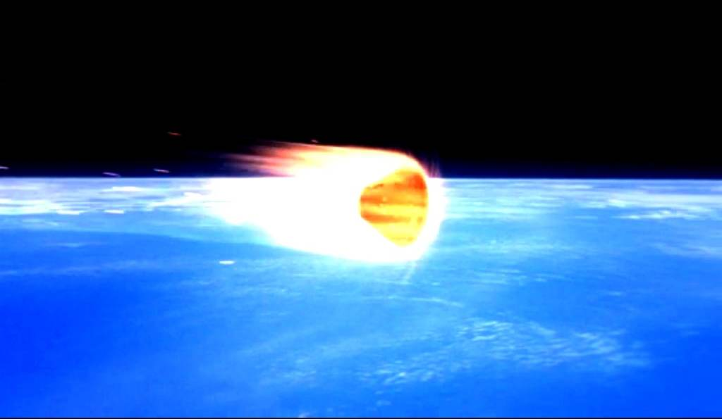 Orion EFT-1 reentry heating