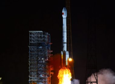 Long March 3B/E launching APStar-9