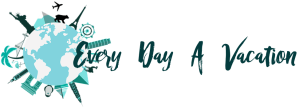 Every Day A Vacation original travel logo