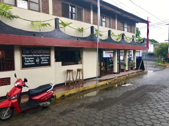 The Cornerhouse Restaurant, Ometepe, Nicaragua