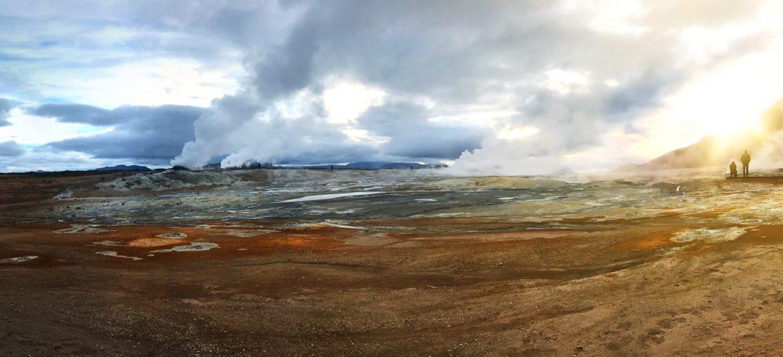 Hveravellir steam vents, Iceland