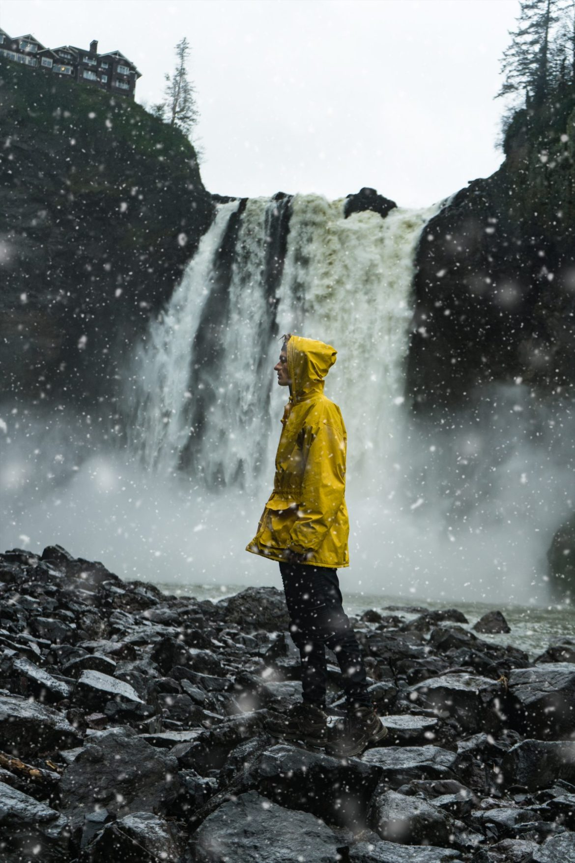 Snoqualmie Falls, Seattle, Washington