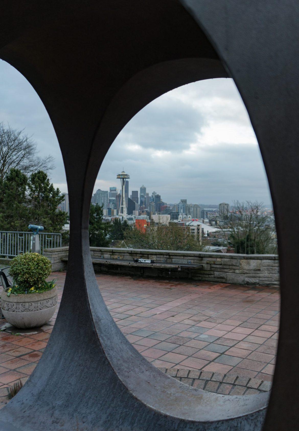 Seattle Skyline at Kerry park, Seattle