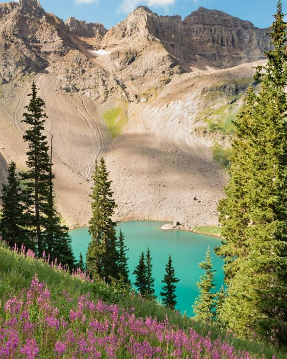USA Photography, landscape photography USA Photography What To Do In Telluride: Blue Lakes Trail