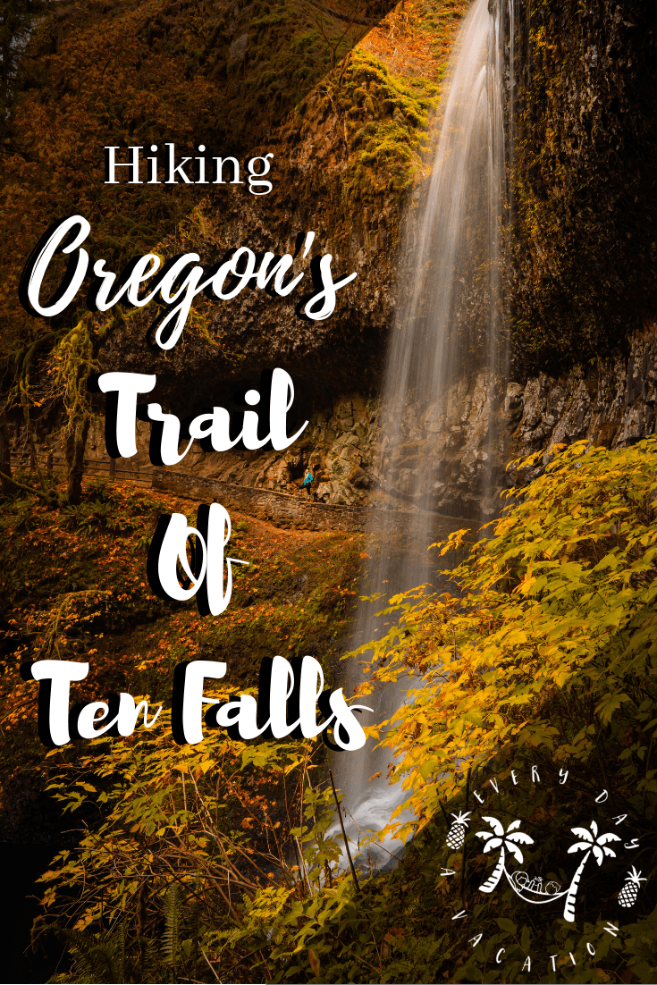 Hiking Oregon's Trial Of Ten Falls