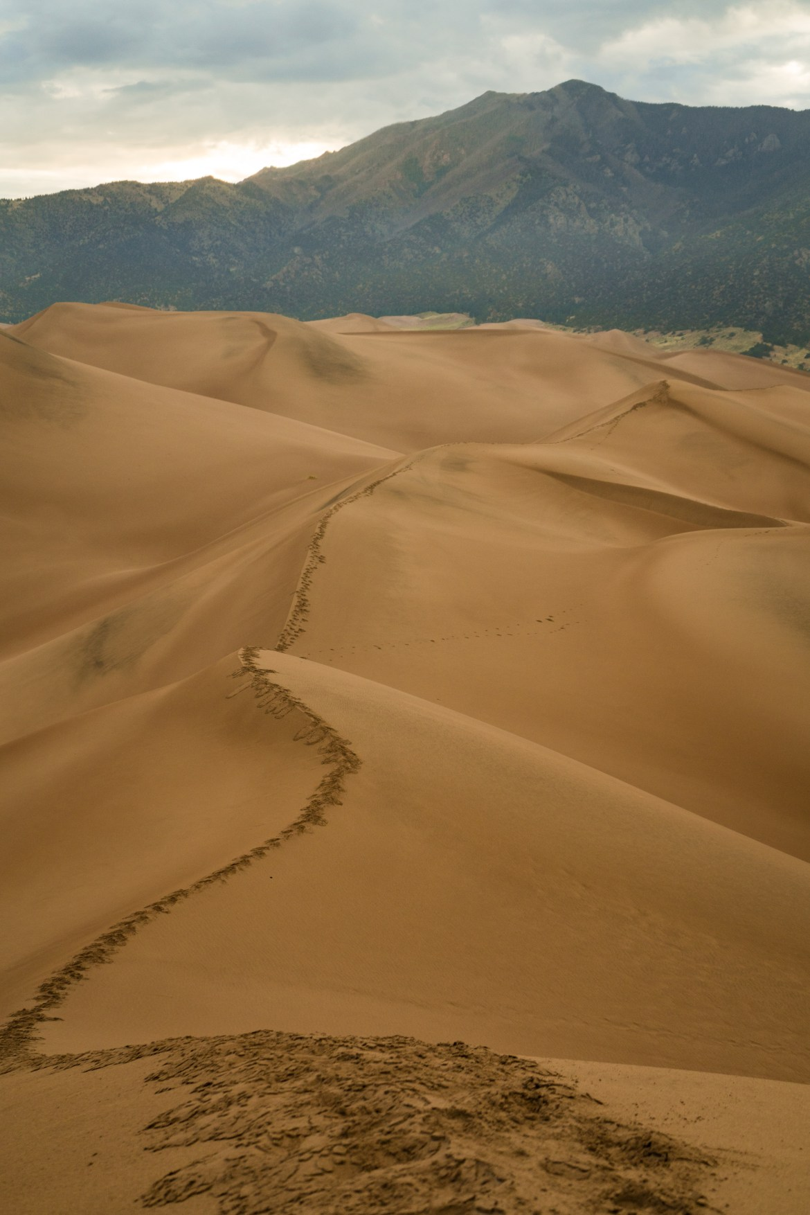 Hiking The Great Sand Dunes National Park, Colorado