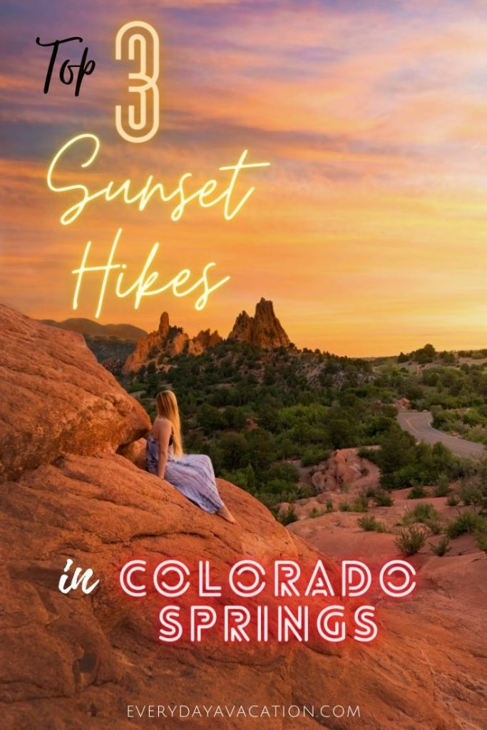 Sunset Hikes In Colorado Springs