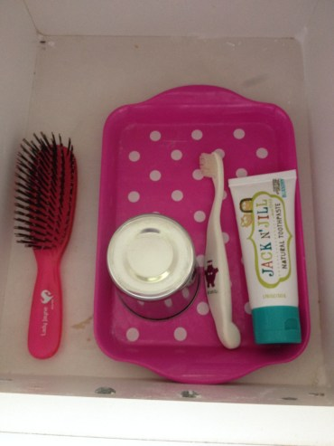 Teeth and Hair Brushing Draw