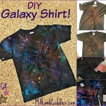 How To Make A Galaxy Shirt A Dr Who Star Wars Craft