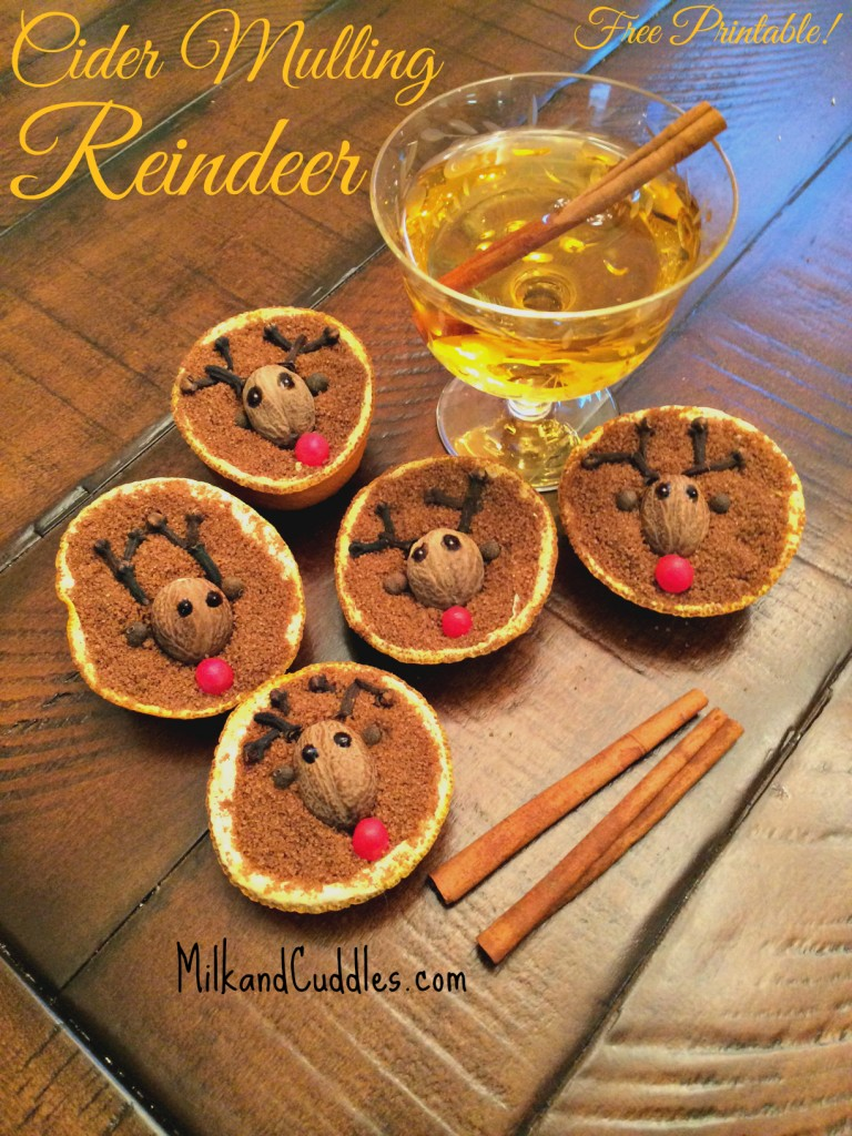 Cider Mulling Reindeer Free Printable Everyday Best
