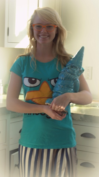 gnome, Perry the Platypus, and Maurya