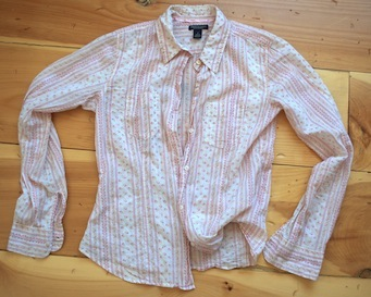 Refashion Foundation: Thrifted Shirt