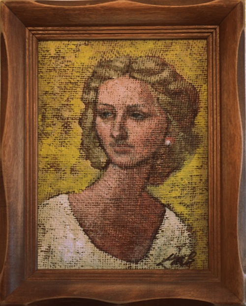 a painting of my mother: everydaybloom.com