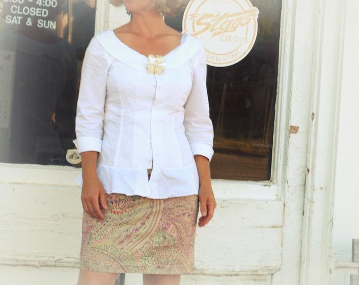 short skirt sweet top
