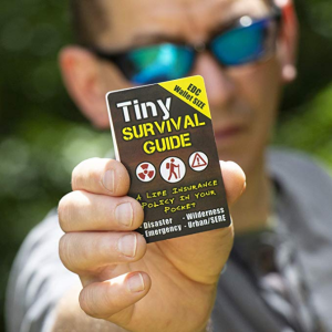 Tiny Survival Guide + Card