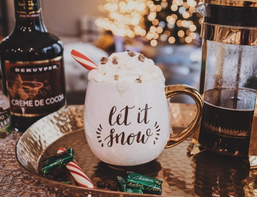 Holiday Spiked Drink | Spiked Peppermint Mocha | Holiday Drink Recipe | Christmas Drink Recipe | Holiday Boozy Drink | Christmas Boozy Drink | Holiday Spiked Coffee | Spiked Coffee Recipe