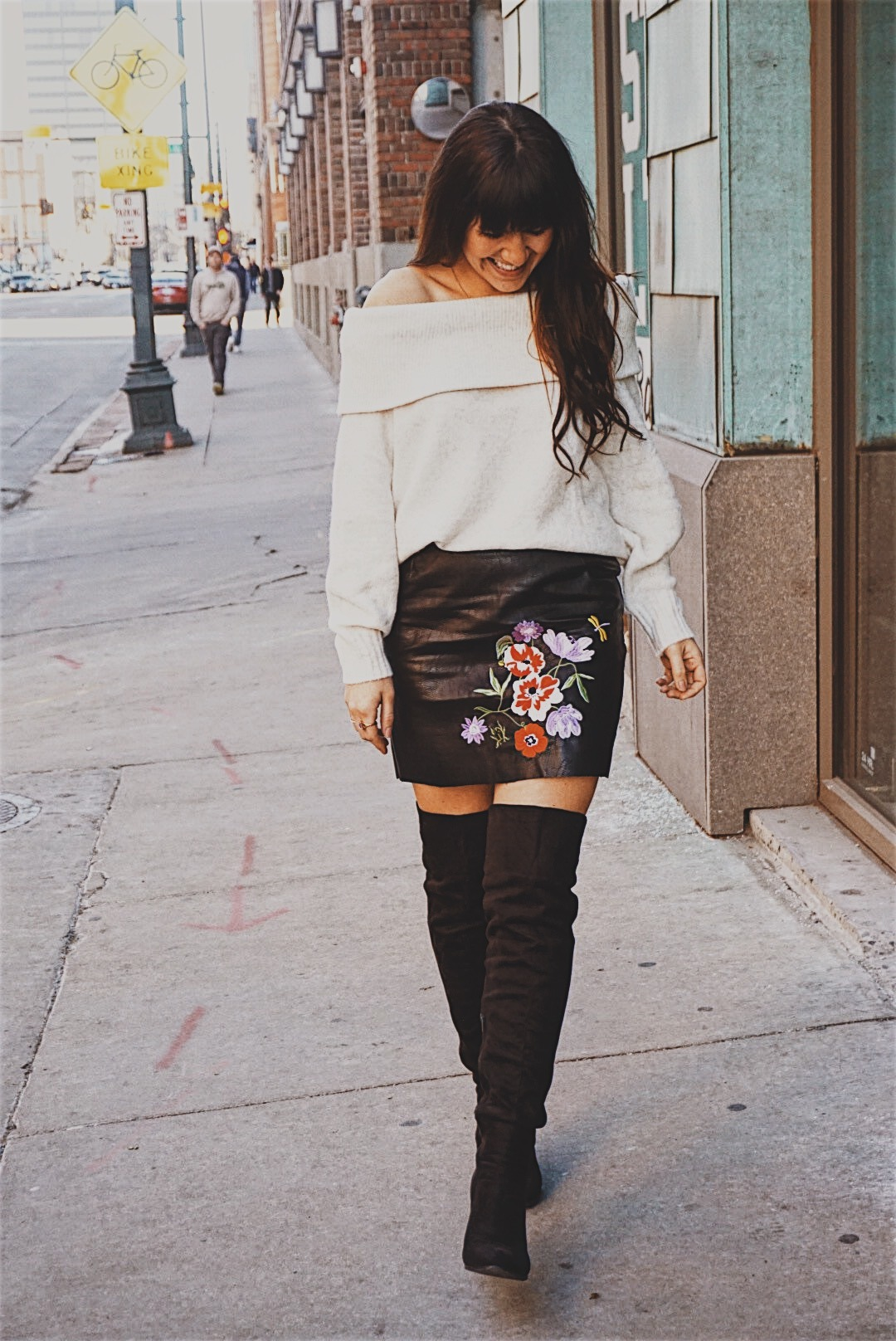 Best Skirts to get you from Winter to Spring   Faux Leather Skirt   Chiffon Pleated Skirt   Winer Skirt Style   Spring Skirt Style