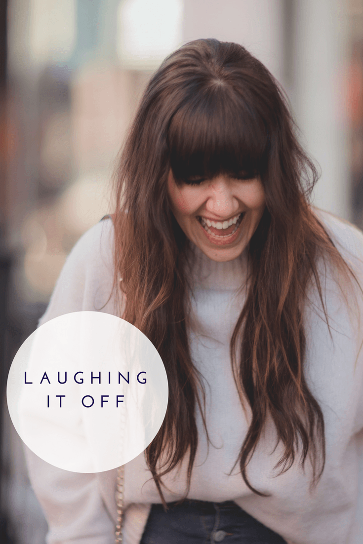 Laughing it Off | Positivity for Woman | Tips on Being Happy | Everyday Positive Tips | Living Your Best Life