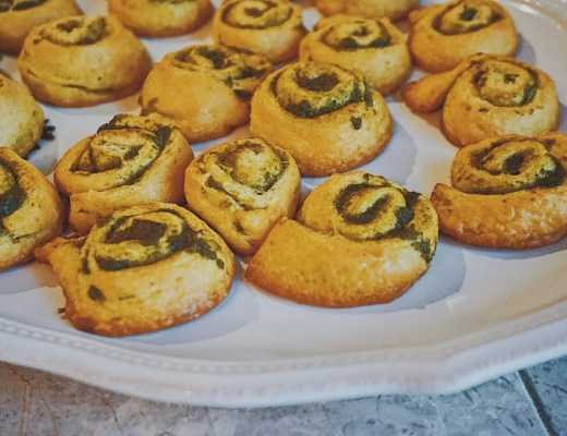 Easy Pesto Pinwheels | Pesto Appetizer Recipe | Easy Appetizer Recipe