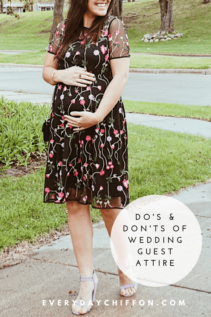 Do's & Don'ts of Wedding Guest Attire | Maternity & Non-Maternity Dresses Included