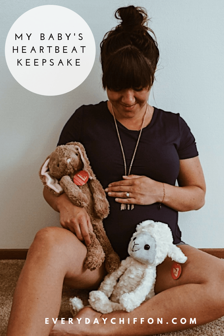 Baby O's Heartbeat Keepsake with My Baby's Heartbeat Bear | The Best Pregnancy Gift Out There
