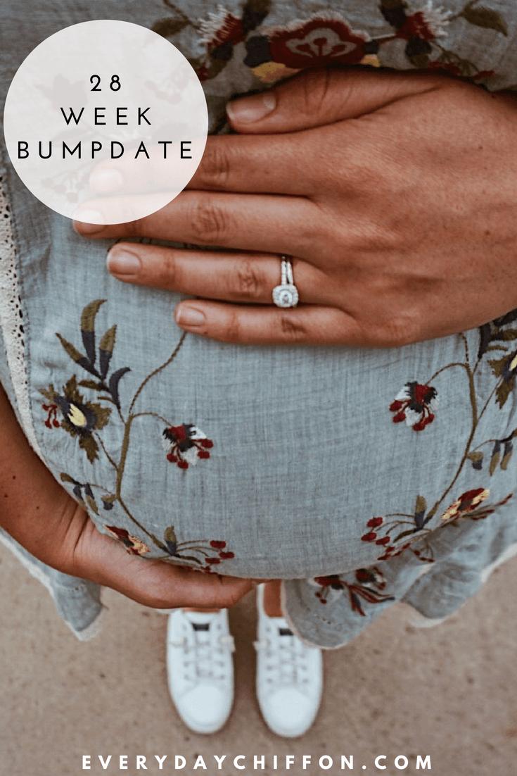 Baby O 28 Week Bumpdate | Pregnancy Update