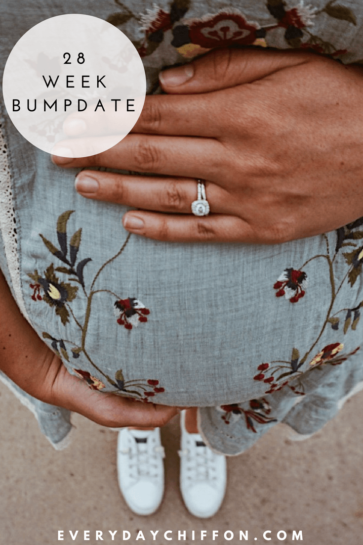 Baby O 28 Week Bumpdate | Pregnancy Update