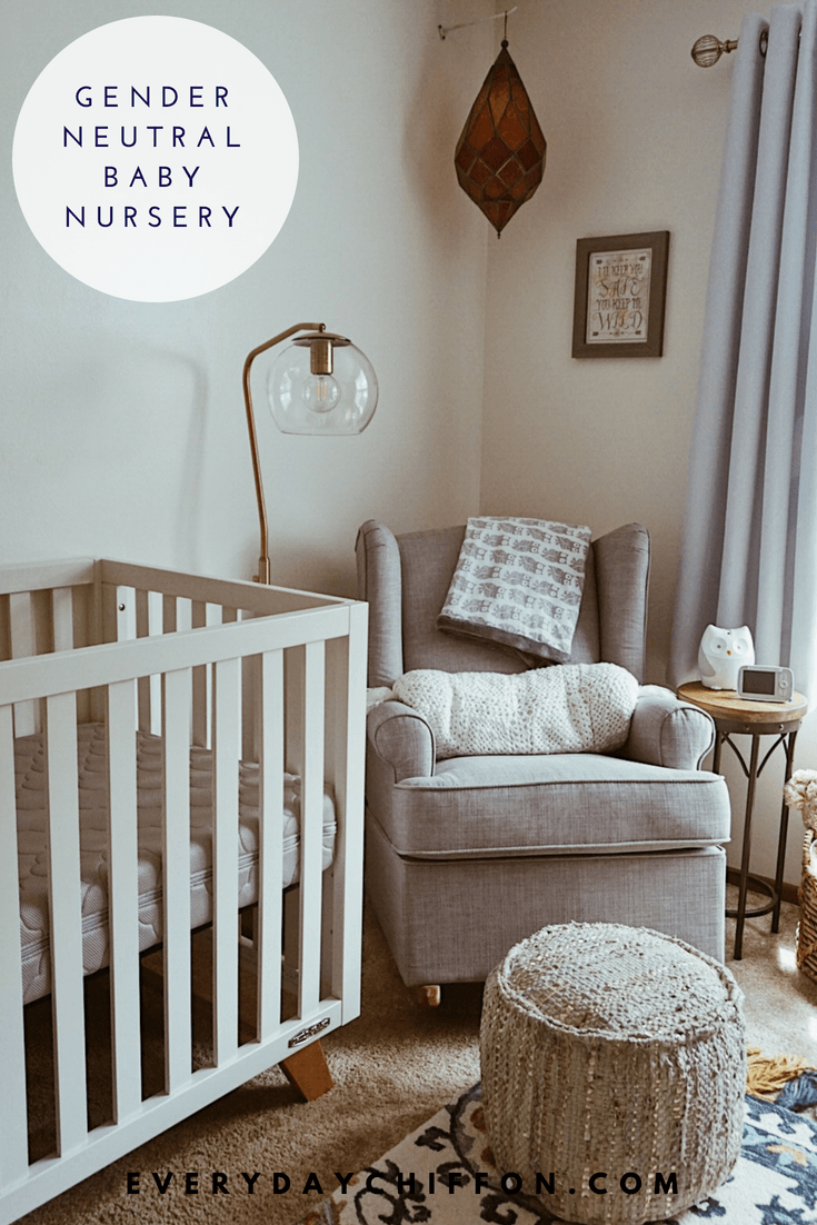 Gender Neutral Baby Nursery | Everyday Mama - Baby O's Nursery Reveal