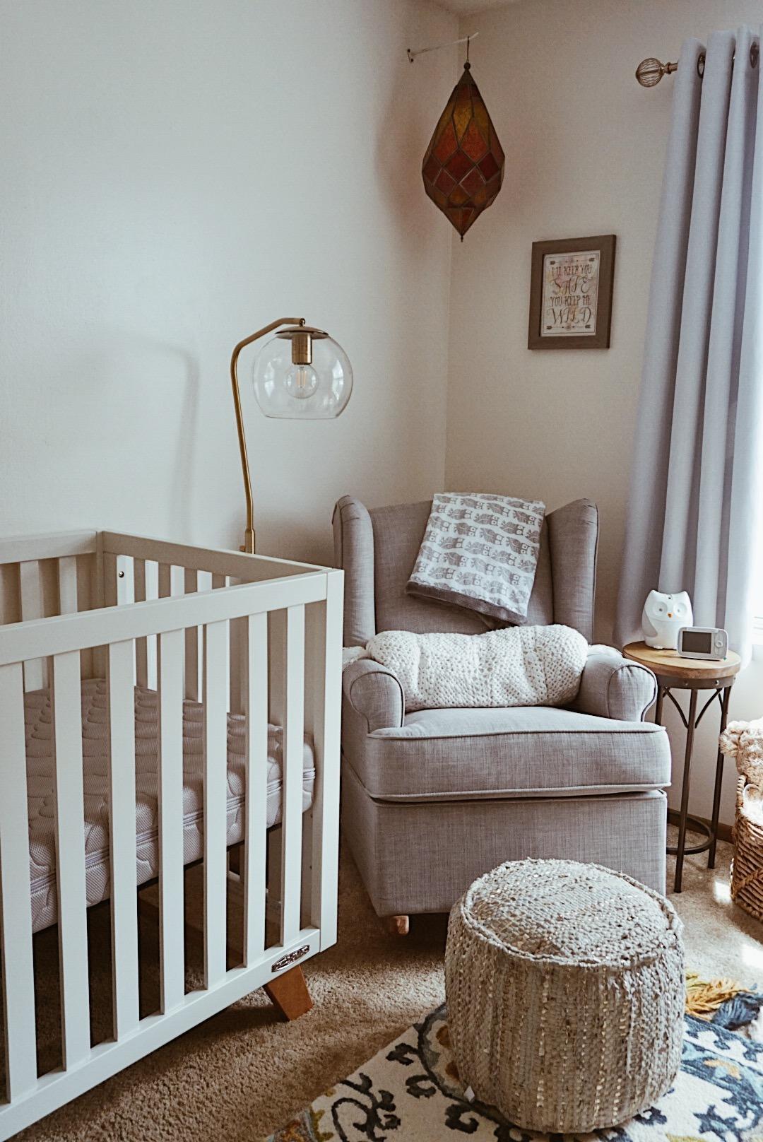 Gender Neutral Baby Nursery | Everyday Mama - Baby O's Nursery Reveal