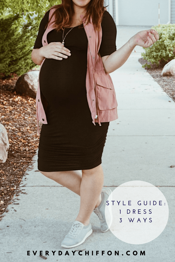 Style Guide: 1 Black Dress Styled 3 Ways
