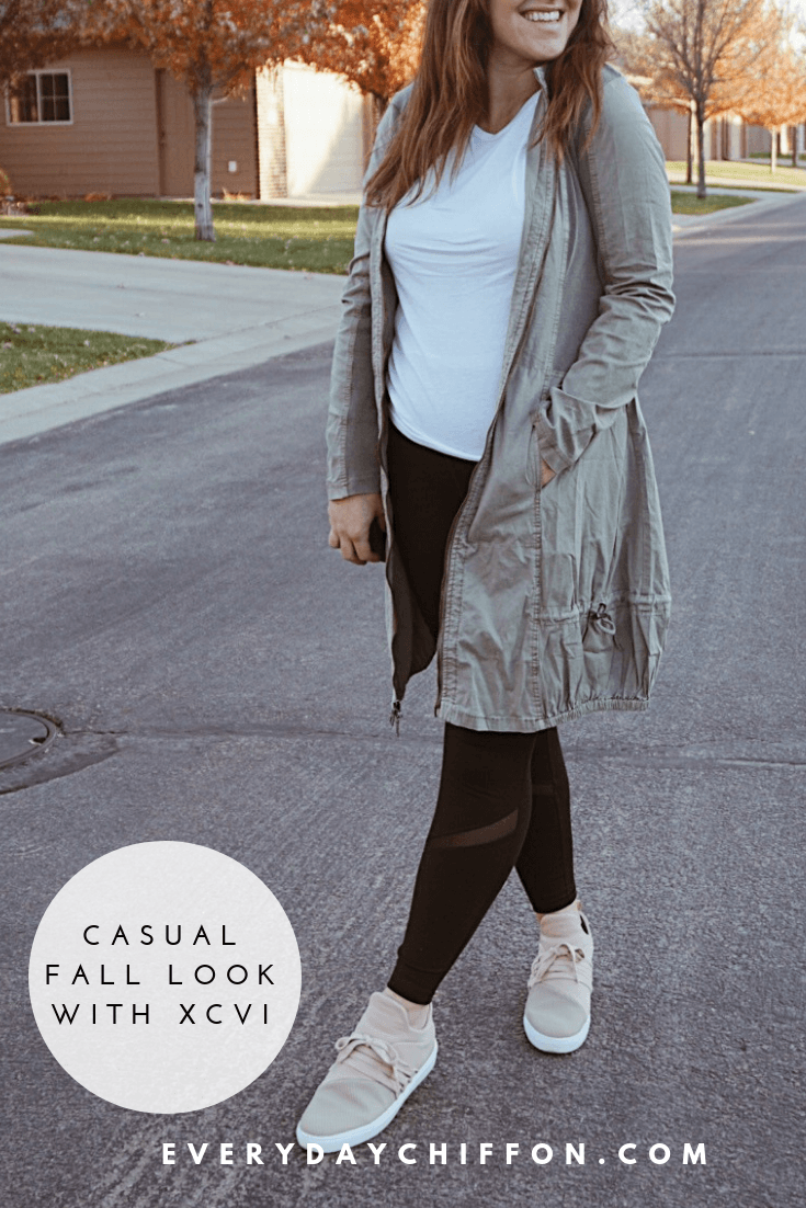 Casual Fall Look with XCVI via Zappos - A comfortable look for motherhood doesn't mean you can't be stylish too! Shop this full look on Everydaychiffon.com