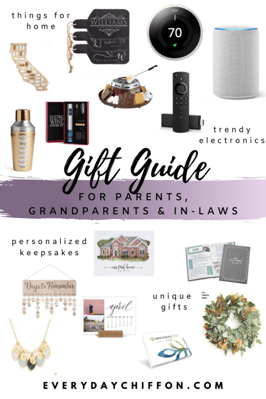 Gifts for Parents, Grandparents & In-laws