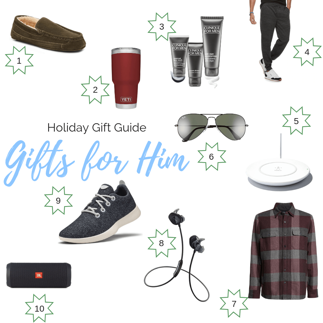 Holiday Gift Guide: Gifts for Him | Everyday Chiffon
