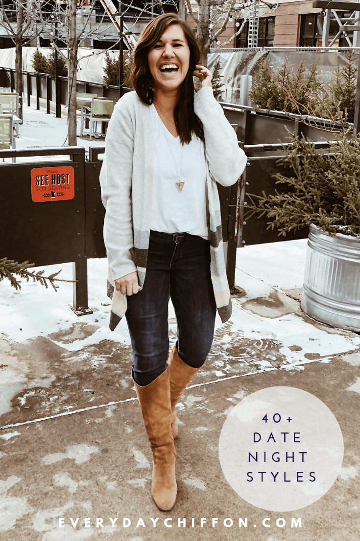 40 Date Night Styles - Casual Date Night Outfits | Everyday Chiffon